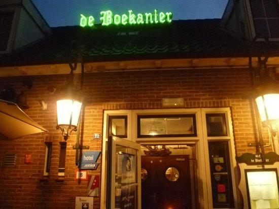 Vrouwenpolder, Países Bajos: l 'hôtel le soir