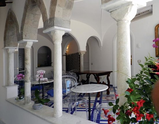 Hotel Croce di Amalfi: sala colazione
