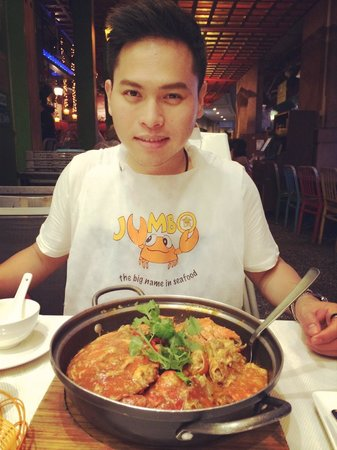 Jumbo Seafood : My chili crab 😋