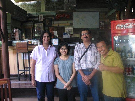 Tamarind : The lovely couple. Neng and Kai