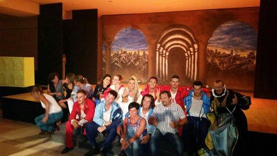 Yadis Djerba Golf Thalasso & Spa: La mitica equipe!!!