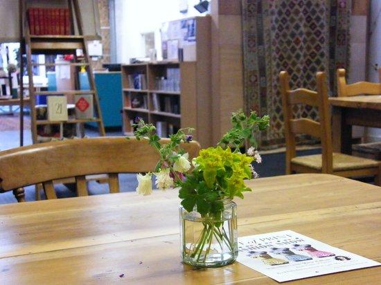 Bookbarn International: Relax in The Full Stop Cafe