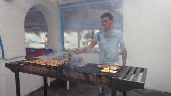 La Lagune : La griglia del ristorante Laguna