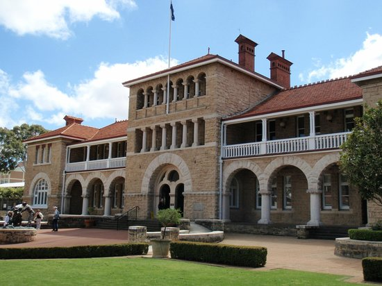 The Perth Mint : The Main Building