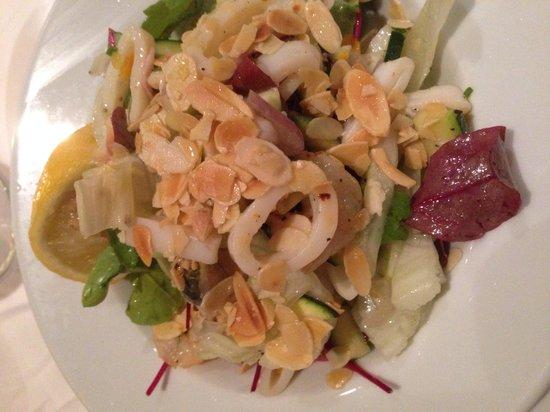 La Cuccina : Seafood salad