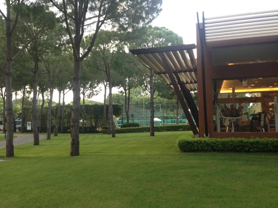 Gloria Golf Resort: Territory and gim