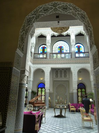 Riad Fes - Relais & Chateaux: Living Room
