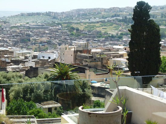 Riad Fes - Relais & Chateaux: Roof Terrace View