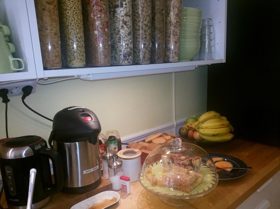 Hotel Hornsgatan: A large choice of cereals
