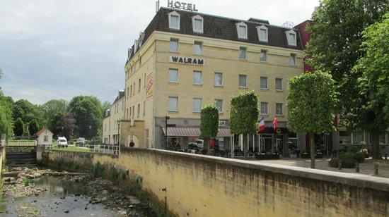 Forsiden af hotel Walram