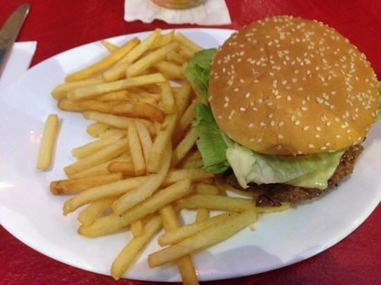 Planet Hollywood: burger