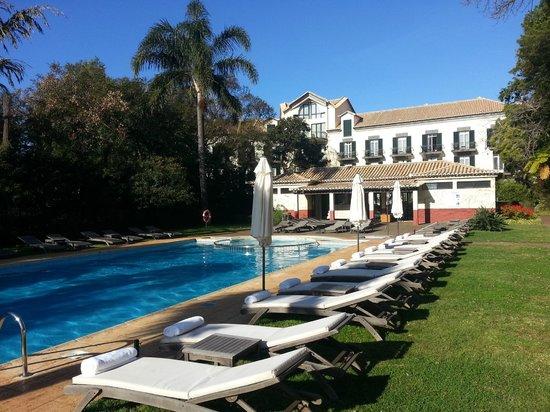 Quinta da Bela Vista: la piscine et la salle de fitness