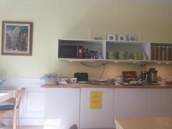 Hotel Hornsgatan: Breakfast room