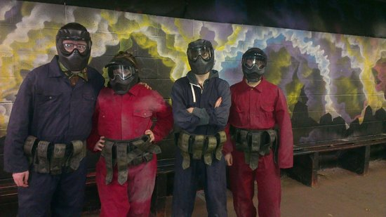 Asylum Paintball Stockport: Ready for battle...