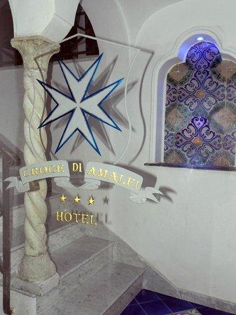 Hotel Croce di Amalfi: ingresso