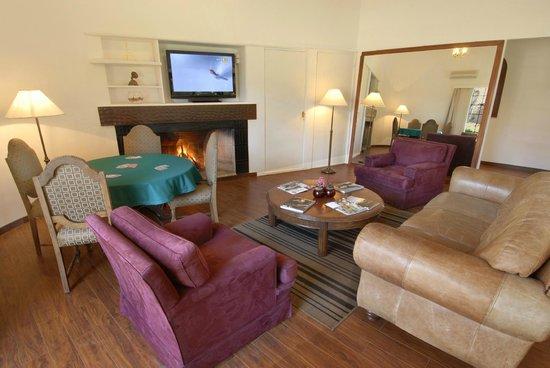 Barradas Parque Hotel & Spa: Sala de relajacion con estufa a leña
