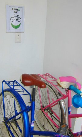 Hotel Latino: Rent a bike from us to go to the beach or ruins
