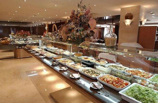 Hotel Pueblo Camino Real: Restaurant du Club Marmara
