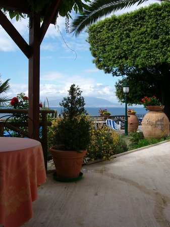 Grand Hotel Ambasciatori: Gartenbereich