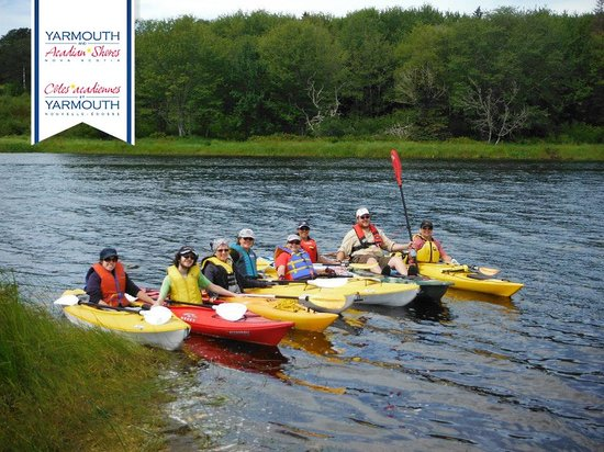 Yarmouth and Acadian Shores, Canada: Kayaking in Argyle