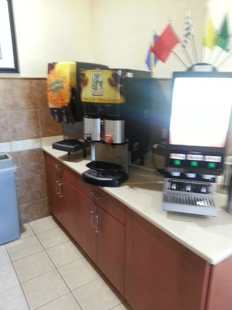 Best Western Denton Inn : Juice