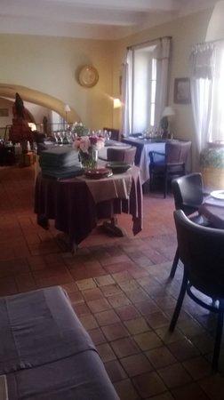 Restaurant La Treille Muscate : vue partielle de la salle à manger