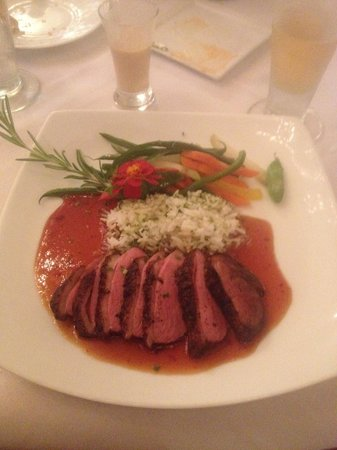 Hudson's on the Bend: duck so tender