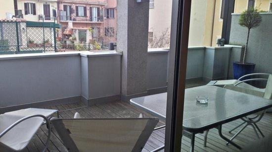 Hotel Albani Roma: terrazzo