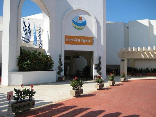 Otium Hotel Seven Seas : Entrance
