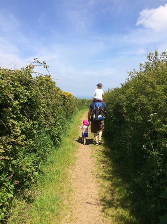 Trevalgan Touring Park: Walk To St.Ives