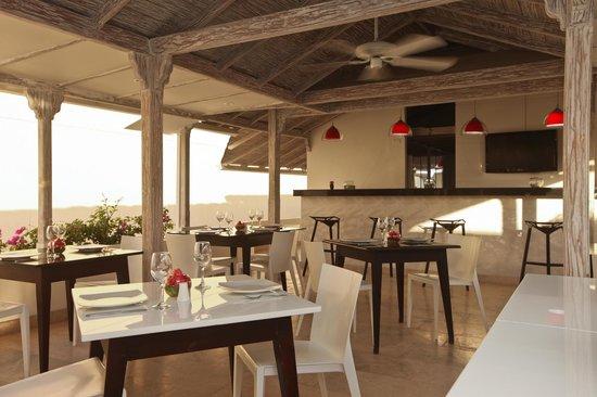 Zalmedina Hotel: TERRAZA/RESTAURANTE