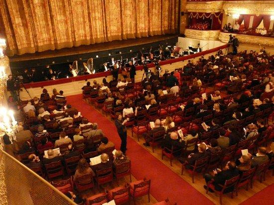 Bolschoi-Theater: зал