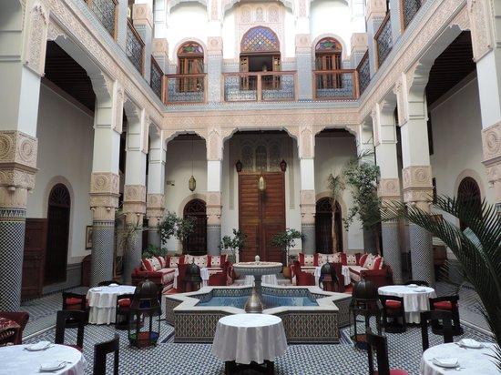 Riad Myra: Hermoso patio interno