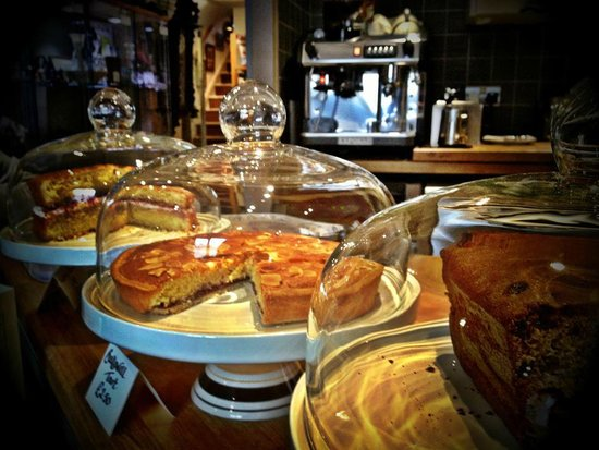 Navenby, UK: Homemade Cakes at the Lounge Café
