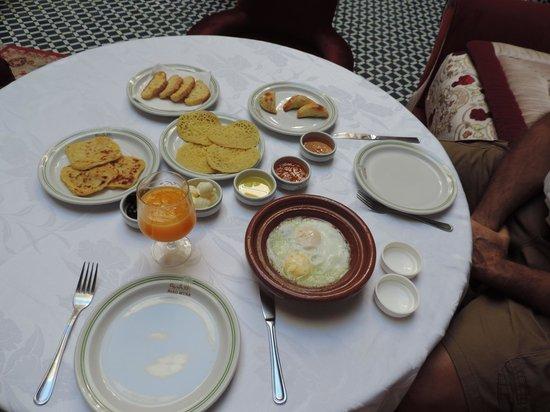 Riad Myra: Desayuno