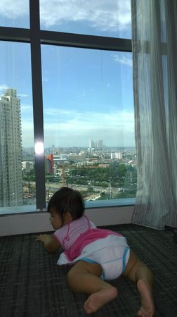 Pullman Jakarta Central Park : The City View from the room
