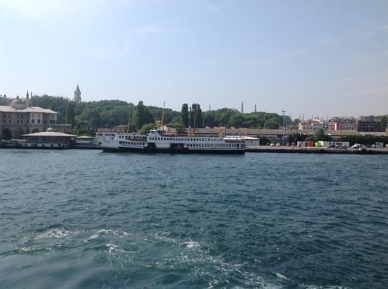 Eminonu Pier : Sirkeci pier