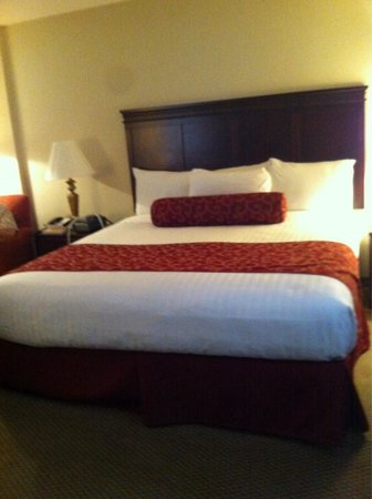 Regency Suites: King size bed