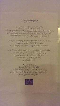Ristorante Cozze & Gamberi: Le regole auree della pizza