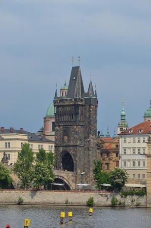 Old Town Bridge Tower: Torre da Cidade Velha -Praga