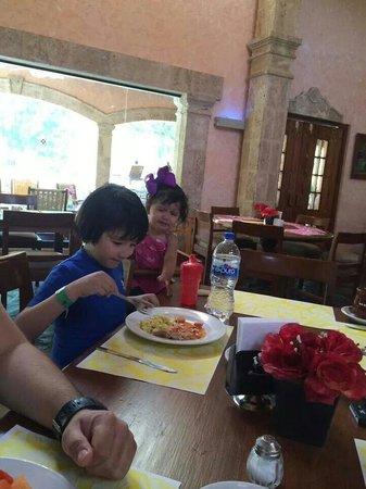 Hotel Rincon del Montero: Riquisima la comida!