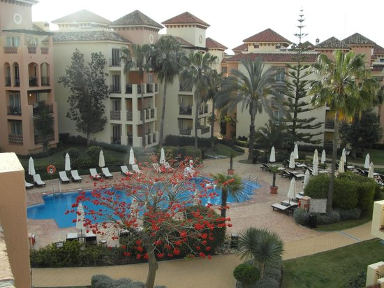 Marriott's Marbella Beach Resort: View from the lounge balcony
