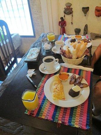 Hotel Casa San Lázaro: Desayuno