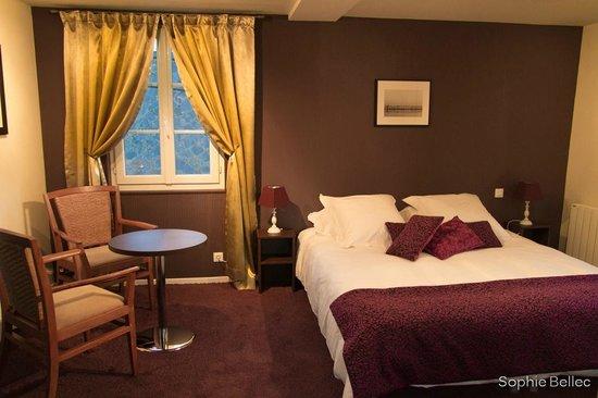 L'Hostellerie d'Acquigny : chambre étage