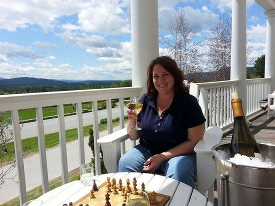 Mountain View Grand Resort & Spa: on the veranda beautiful view!
