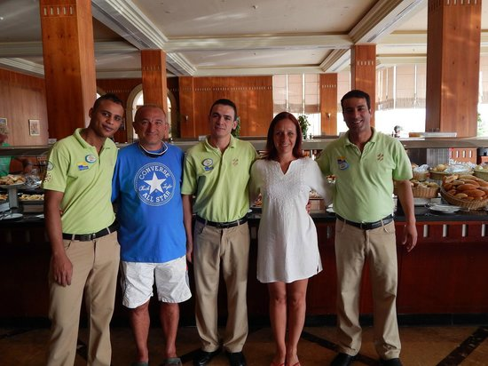 "Resta Grand Resort: Staff in the ""Space"""