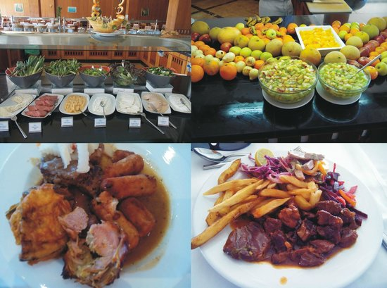 "Resta Grand Resort: Foods of the ""Space"" restaurant"