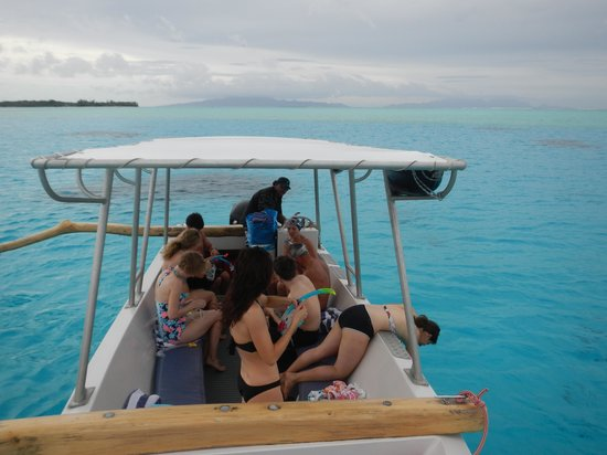 Lagoon Service : Pirogue