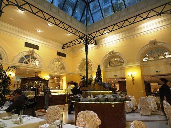 Radisson Blu Palais Hotel, Vienna : Breakfast venue