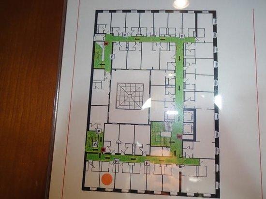Radisson Blu Palais Hotel, Vienna : Floor plan